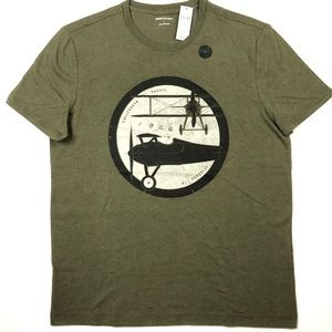 Banana Republic Graphic Aviation Tshirt